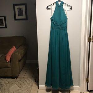 Azazie Forest Green Prom/ Bridesmaid Dress